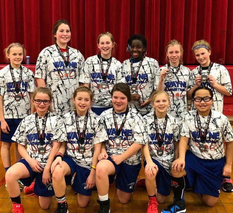 6th Grade Girls - 2nd Place Norfolk Catholic