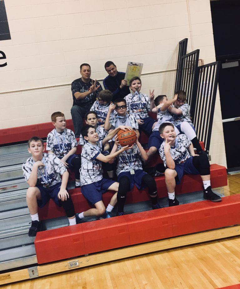 6th Boys - 1st Place YMCA Tourney 1