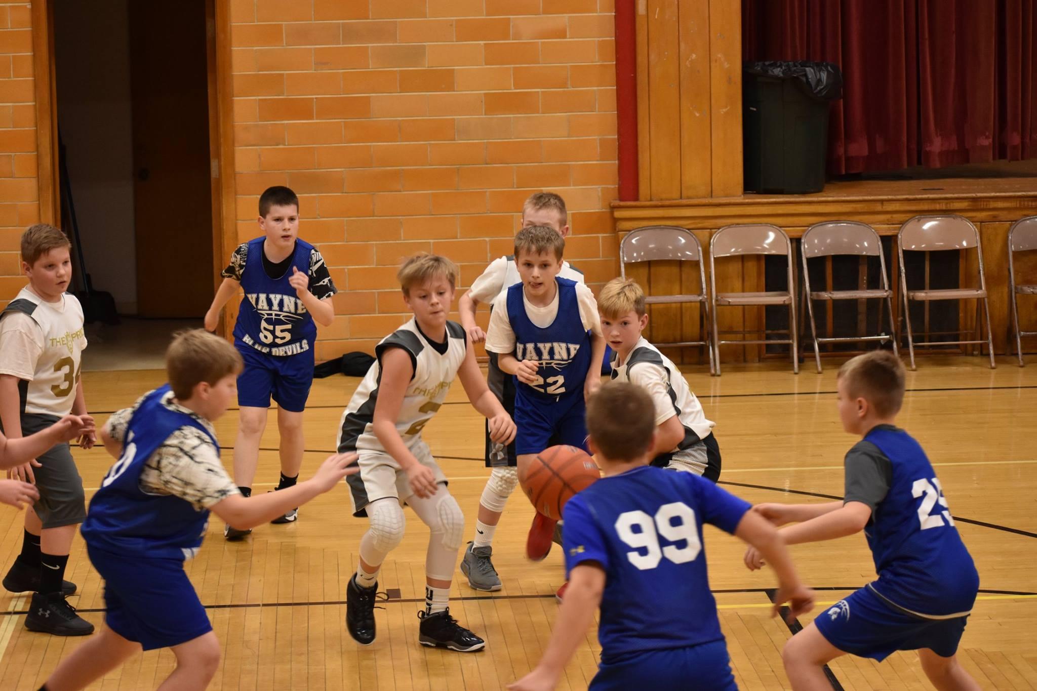 5th Grade Boys - David City 8