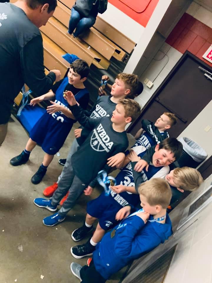2020 4th Grade Boys - YMCA 1st Place 2