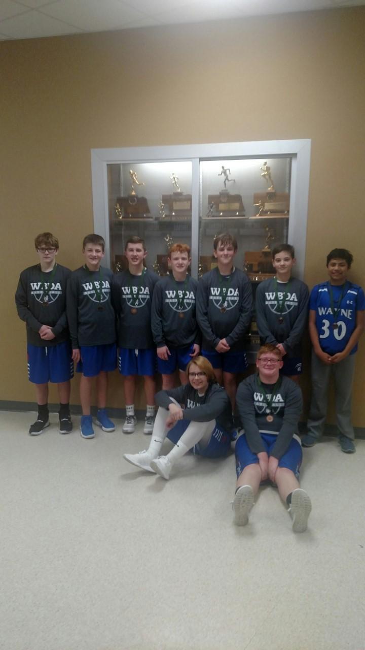 2020 8th Grade Boys Blue